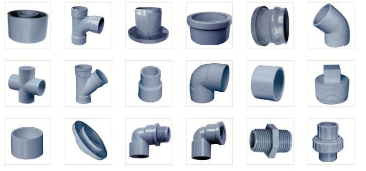 Vật tư phụ kiện ống PVC